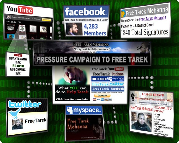 Online Pressure Campaign to Free Tarek Mehanna